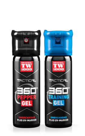 TW1000 TACTICAL Pepper-Gel Classic Twin-Pack inklusive Trainingsspray