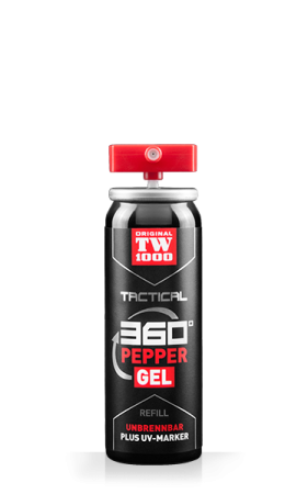 TW1000 TACTICAL Pepper-Gel Ersatzpatrone passend für Super-Garant Professional