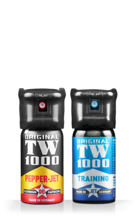 TW1000 Pepper-Jet Man 40 ml - Twin-Pack inklusive Trainingsspray